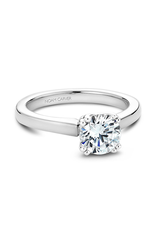 Noam Carver Solitaire Engagement ring B001-02WS product image
