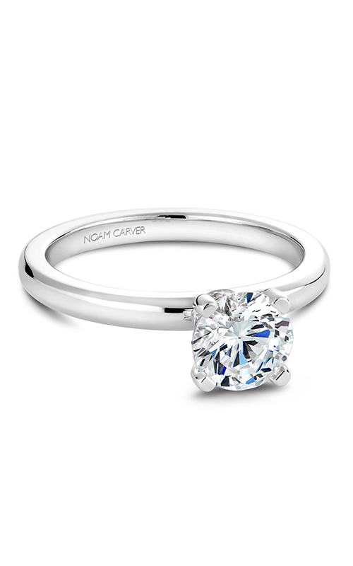 Noam Carver Solitaire Engagement ring B012-02WS product image