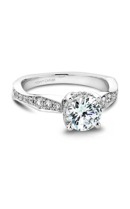 Noam Carver Vintage Engagement Ring B020-02WM product image