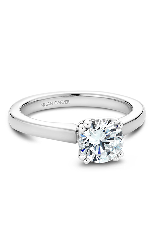 Noam Carver Solitaire Engagement Ring B001-02WM product image
