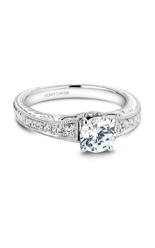 Noam Carver Vintage Engagement Ring B050-01WM product image
