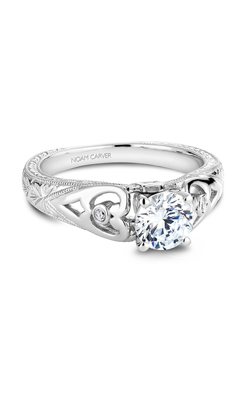 Noam Carver Vintage Engagement Ring B051-01A product image