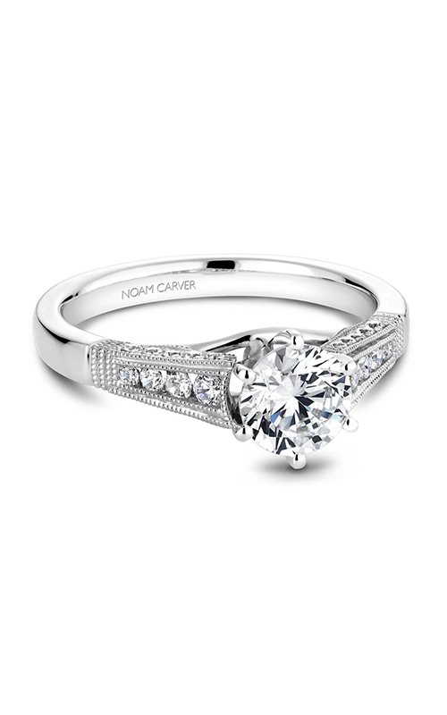 Noam Carver Vintage Engagement Ring B061-01WM product image