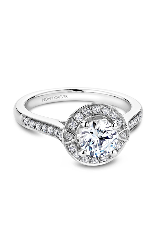 Noam Carver Vintage Engagement Ring B066-01A product image
