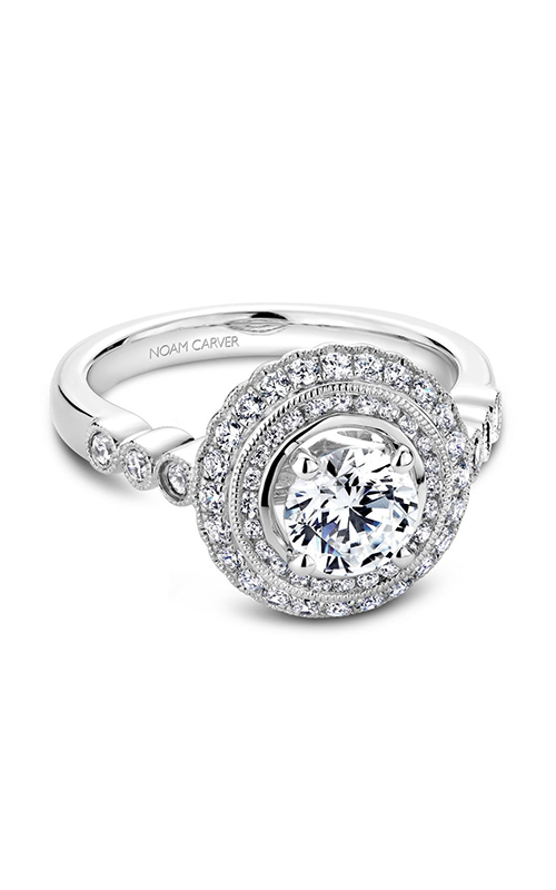 Noam Carver Vintage Engagement Ring B069-01A product image