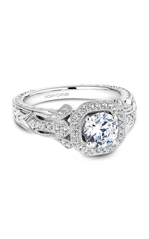 Noam Carver Vintage Engagement Ring B079-01WM product image
