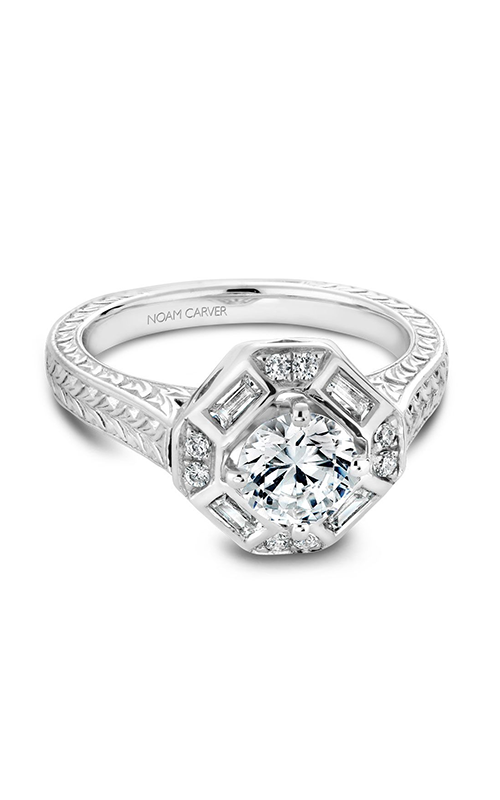 Noam Carver Vintage Engagement Ring B080-01A product image