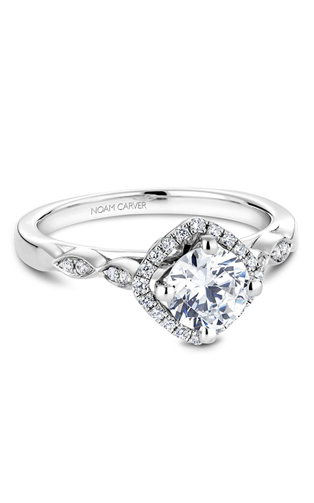 Noam Carver Vintage Engagement Ring B084-01A product image