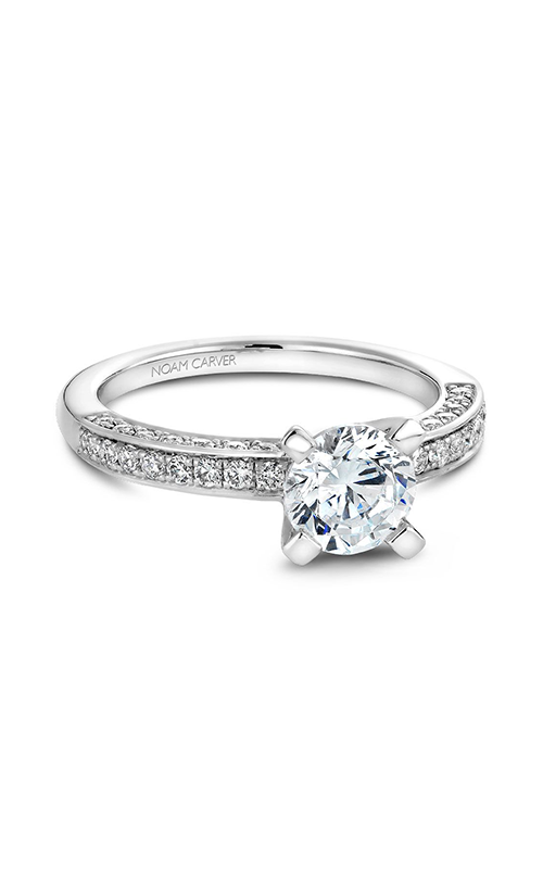 Noam Carver Modern Engagement Ring B003-01WM product image
