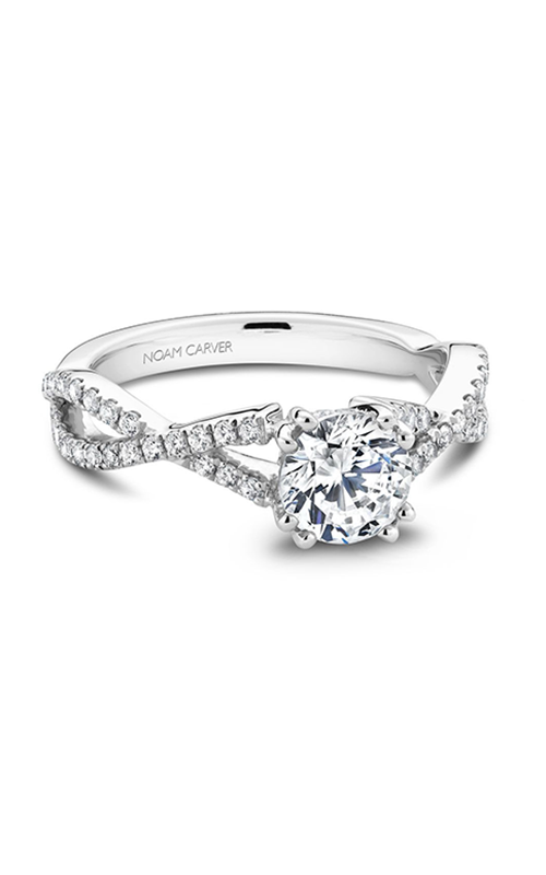 Noam Carver Classic Engagement Ring B004-03A product image