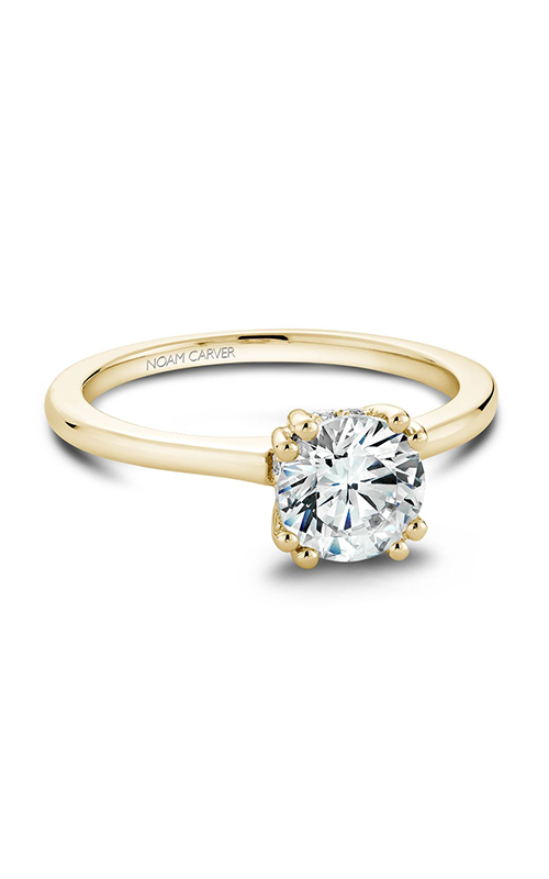 Noam Carver Classic Engagement Ring B004-04YA product image