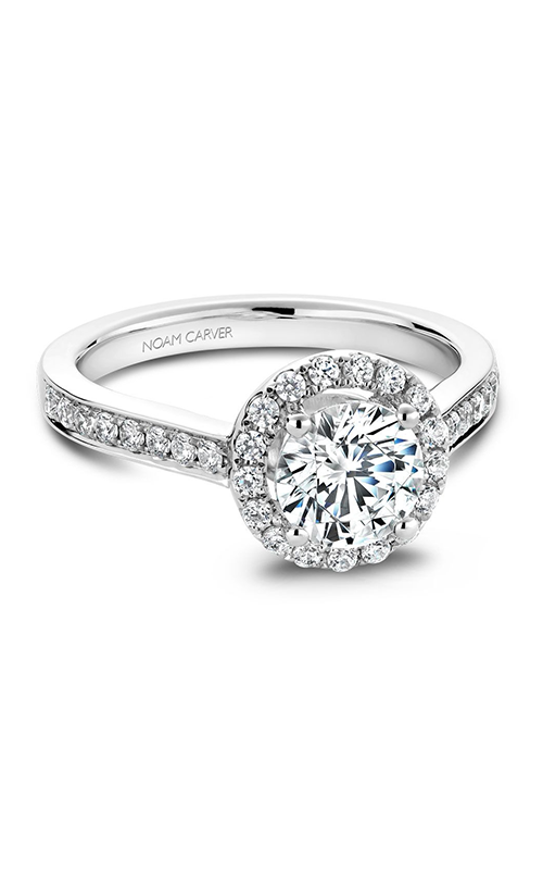 Noam Carver Classic Engagement Ring B005-01A product image