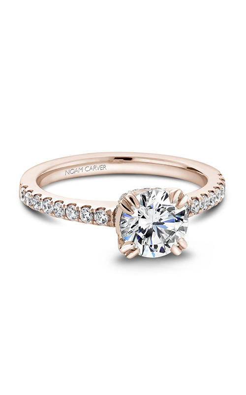 Noam Carver Classic Engagement Ring B009-01RA product image