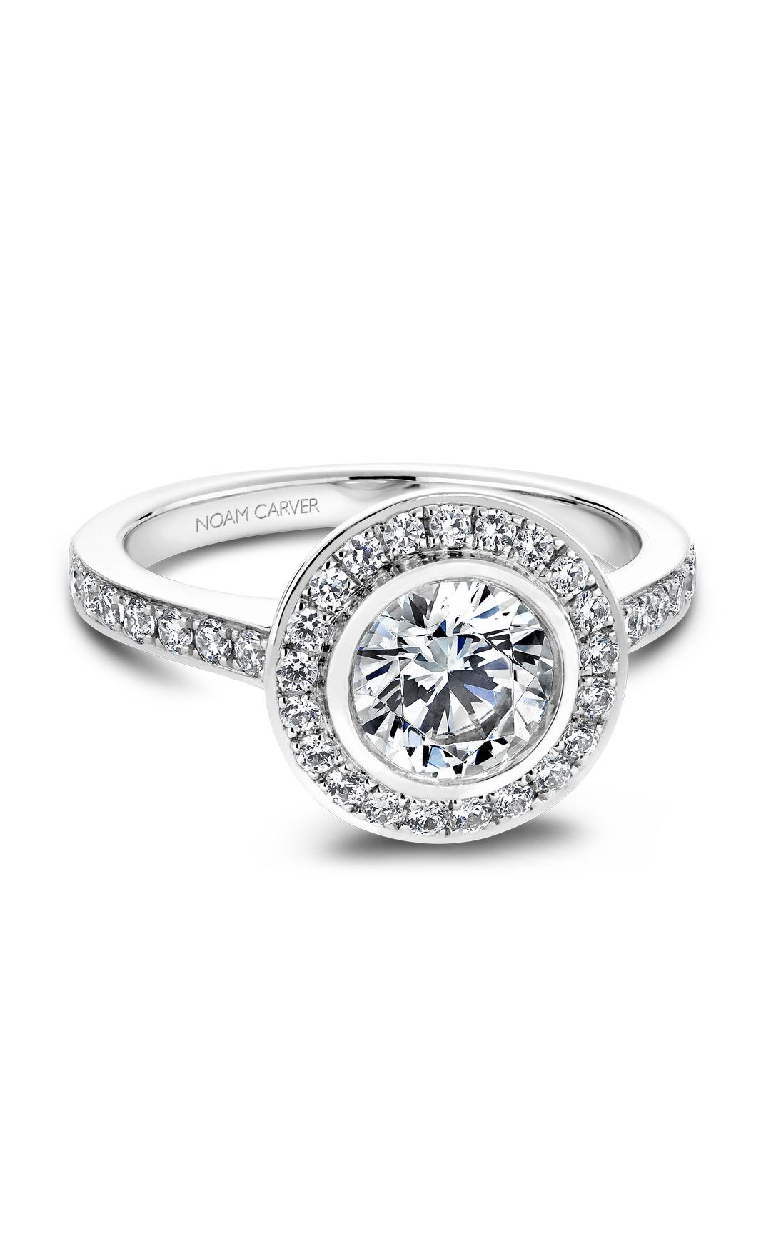 Noam Carver Classic Engagement Ring B013-01A product image