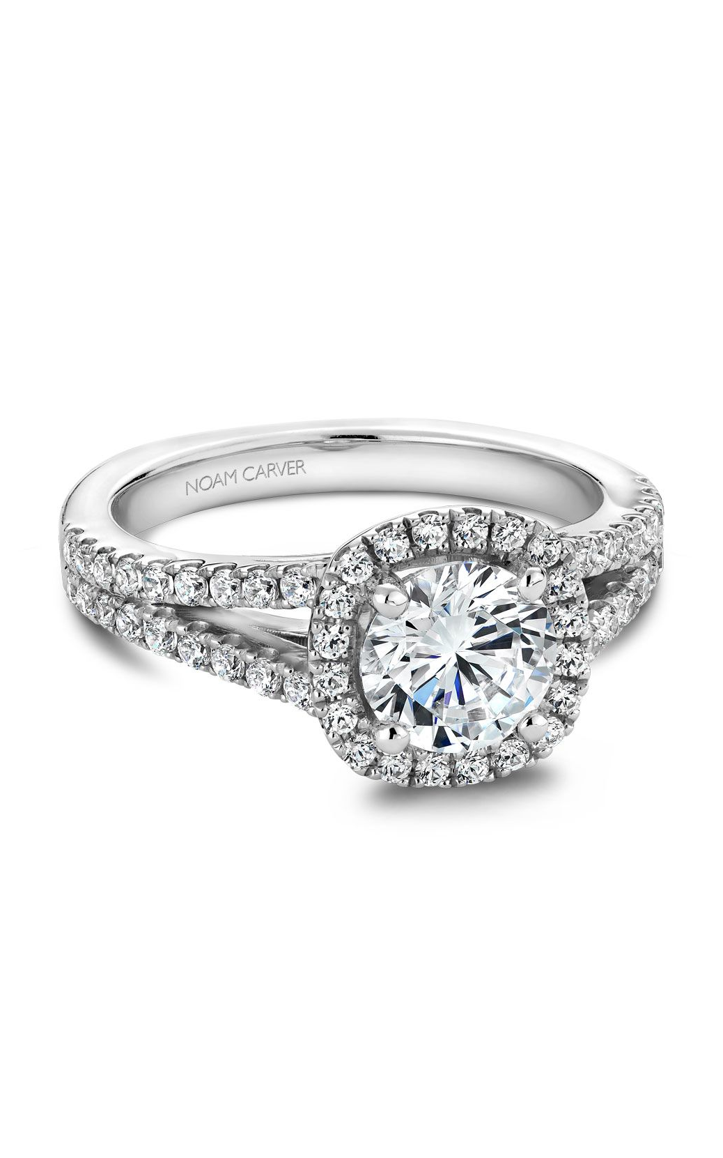 Noam Carver Classic Engagement Ring B015-01A product image