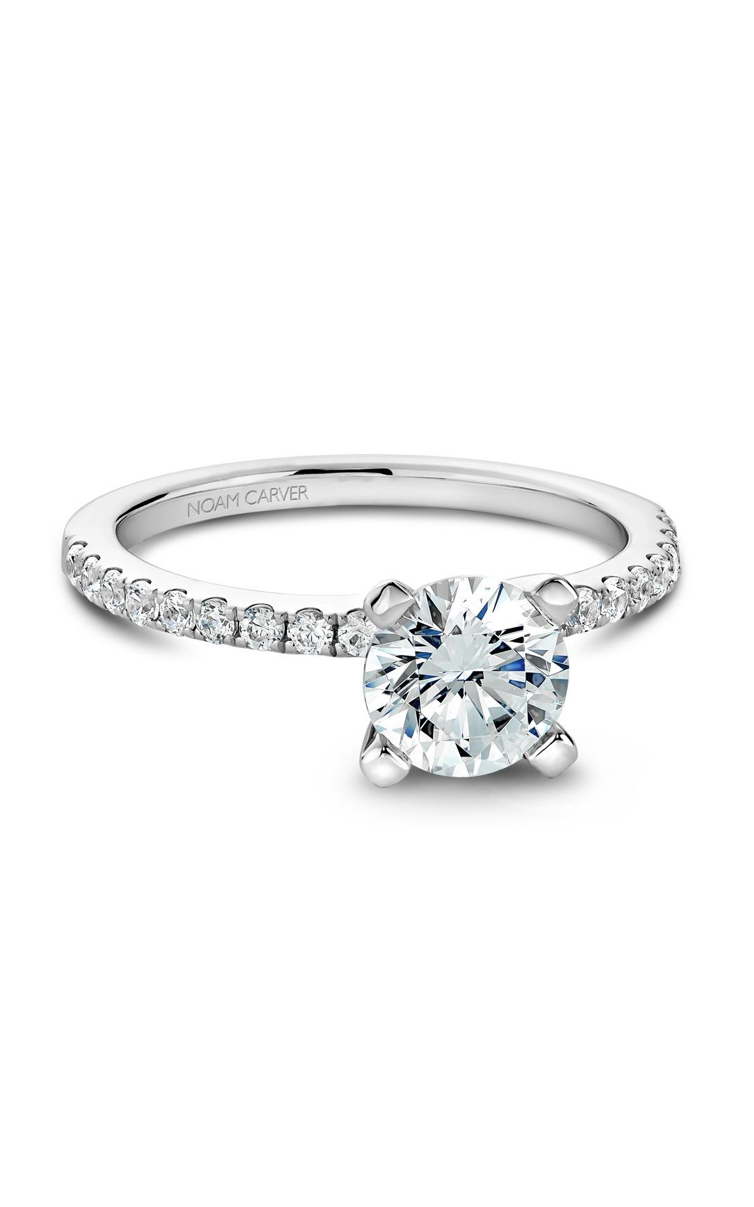 Noam Carver Classic Engagement Ring B017-01A product image
