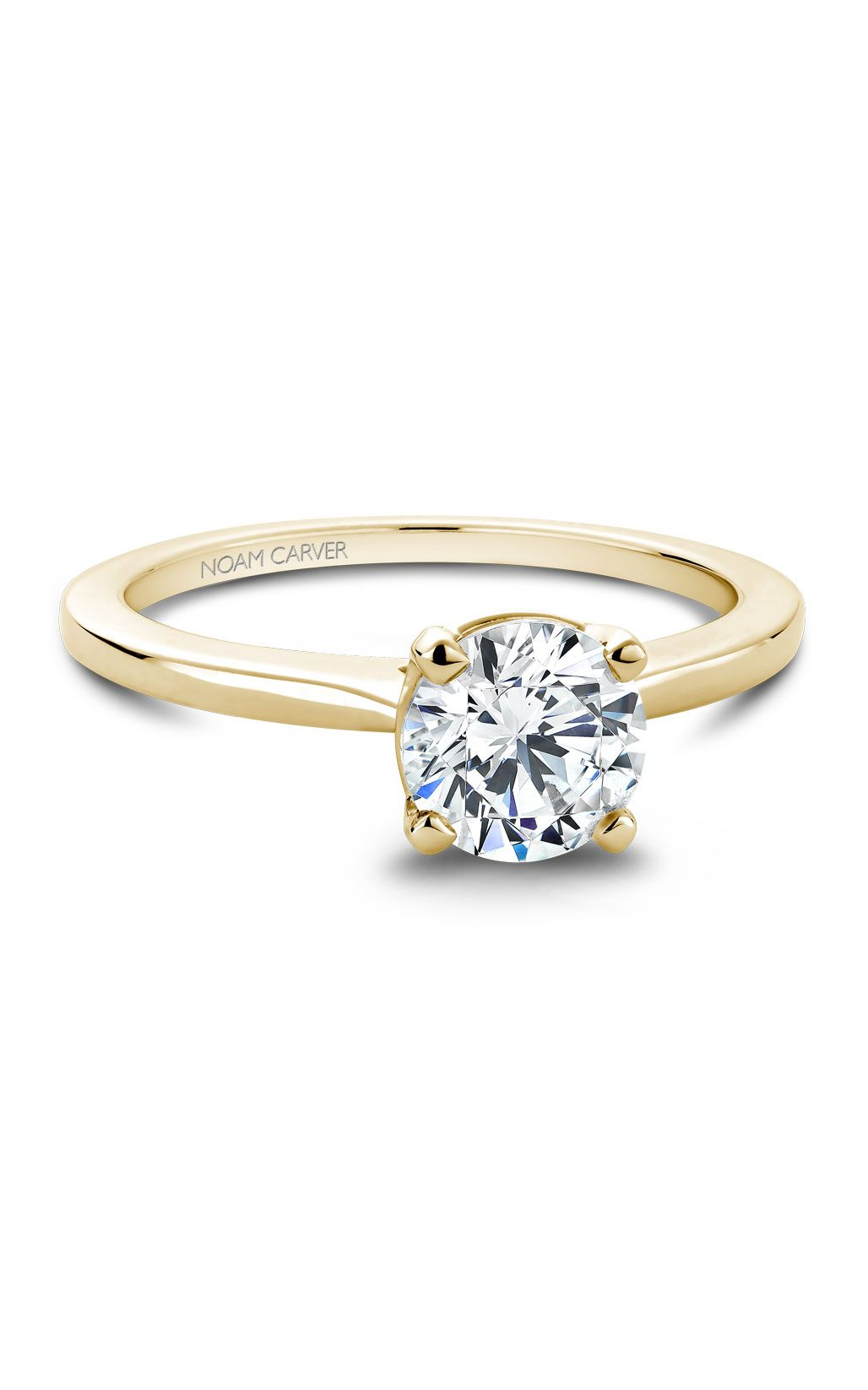Noam Carver Classic Engagement Ring B018-01YA product image
