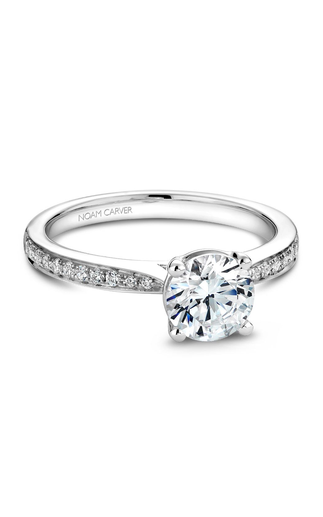 Noam Carver Classic Engagement Ring B018-02A product image