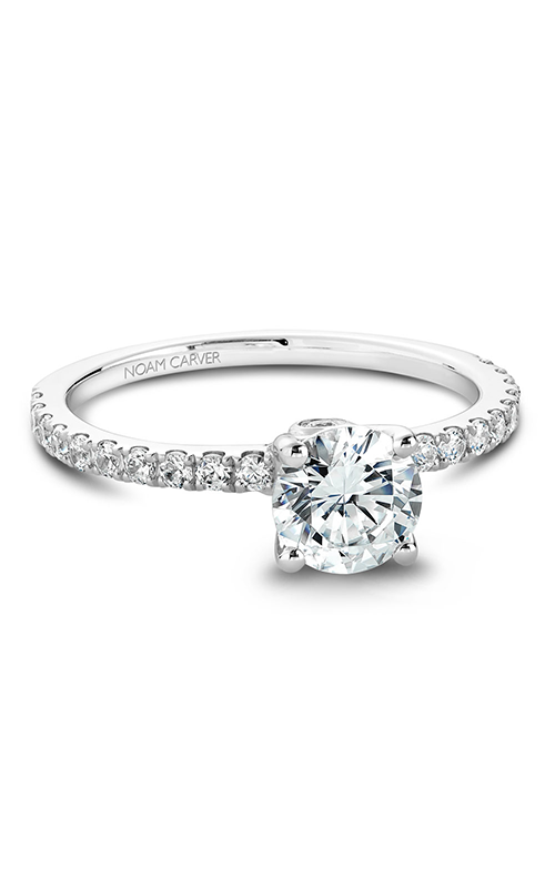 Noam Carver Classic Engagement Ring B022-01A product image