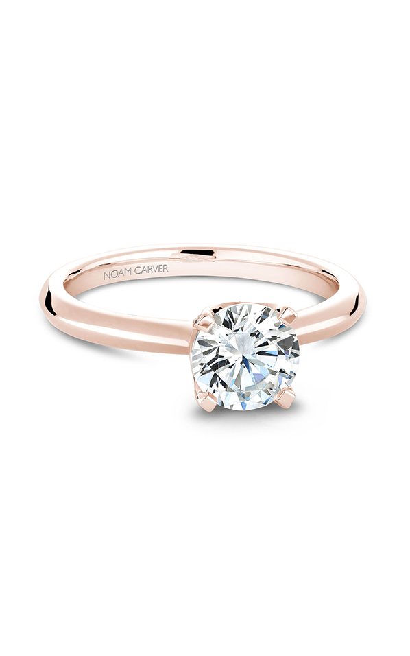 Noam Carver Classic Engagement Ring B027-03RA product image
