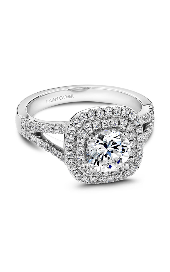 Noam Carver Classic Engagement Ring B035-01A product image