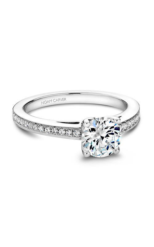 Noam Carver Classic Engagement Ring B036-01A product image
