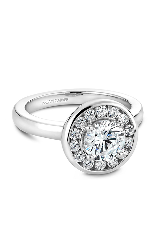 Noam Carver Classic Engagement Ring B037-02A product image
