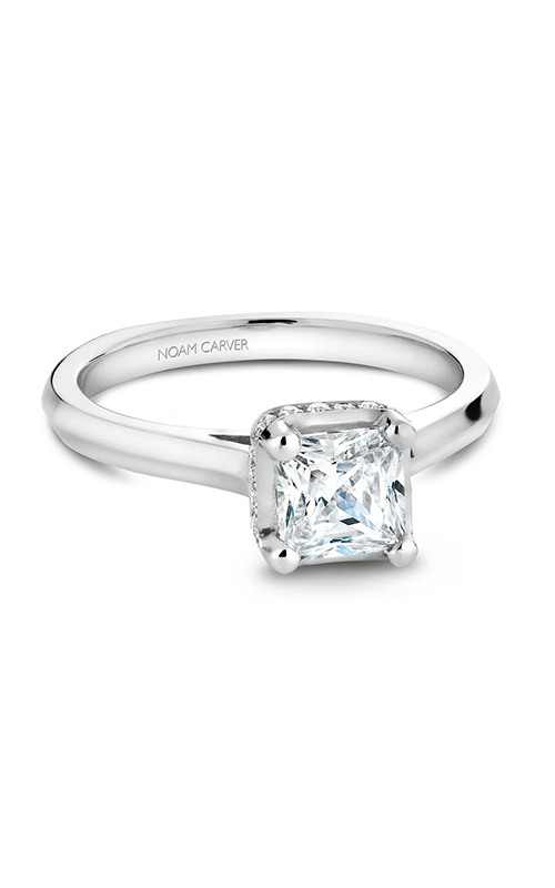 Noam Carver Solitaire Engagement Ring B041-01WM product image