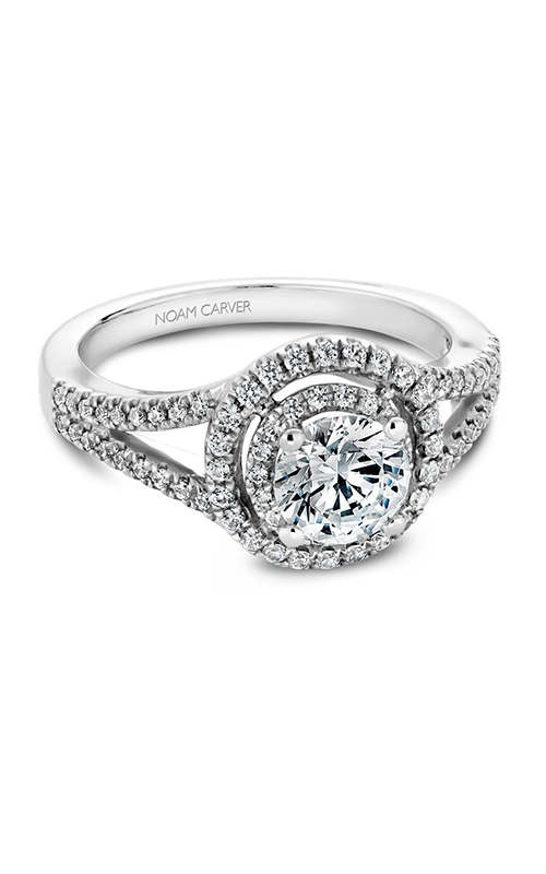 Noam Carver Classic Engagement Ring B100-01A product image