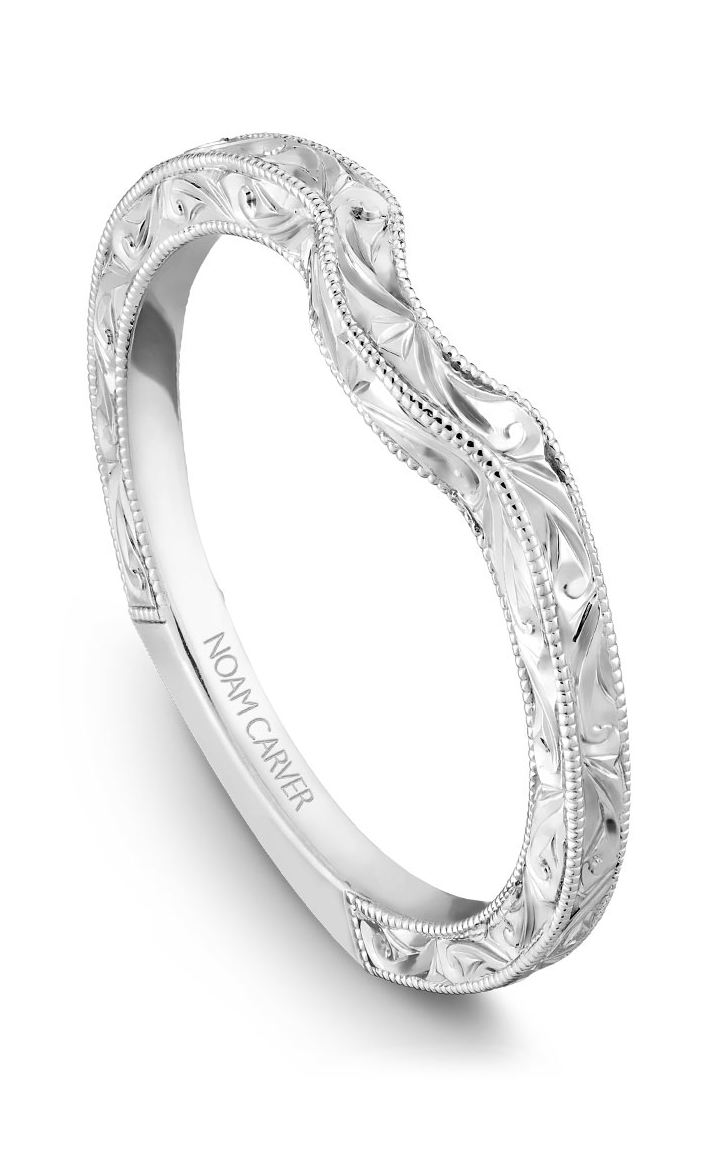Noam Carver Wedding Band B001-02EB product image