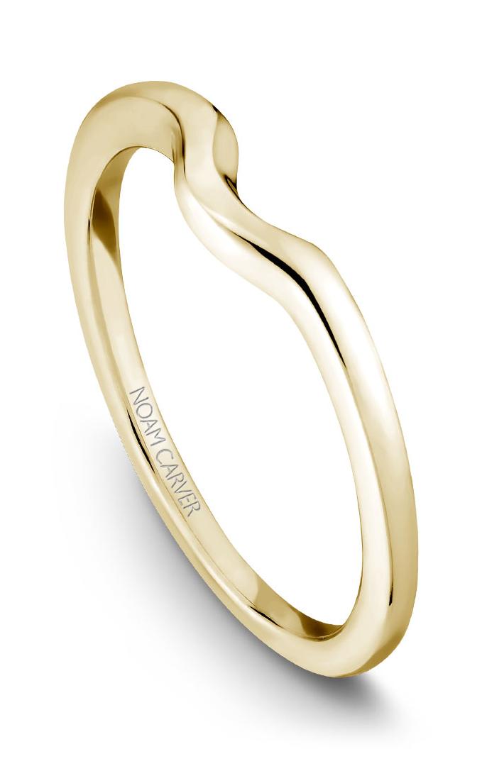Noam Carver Wedding Band B004-04YB product image