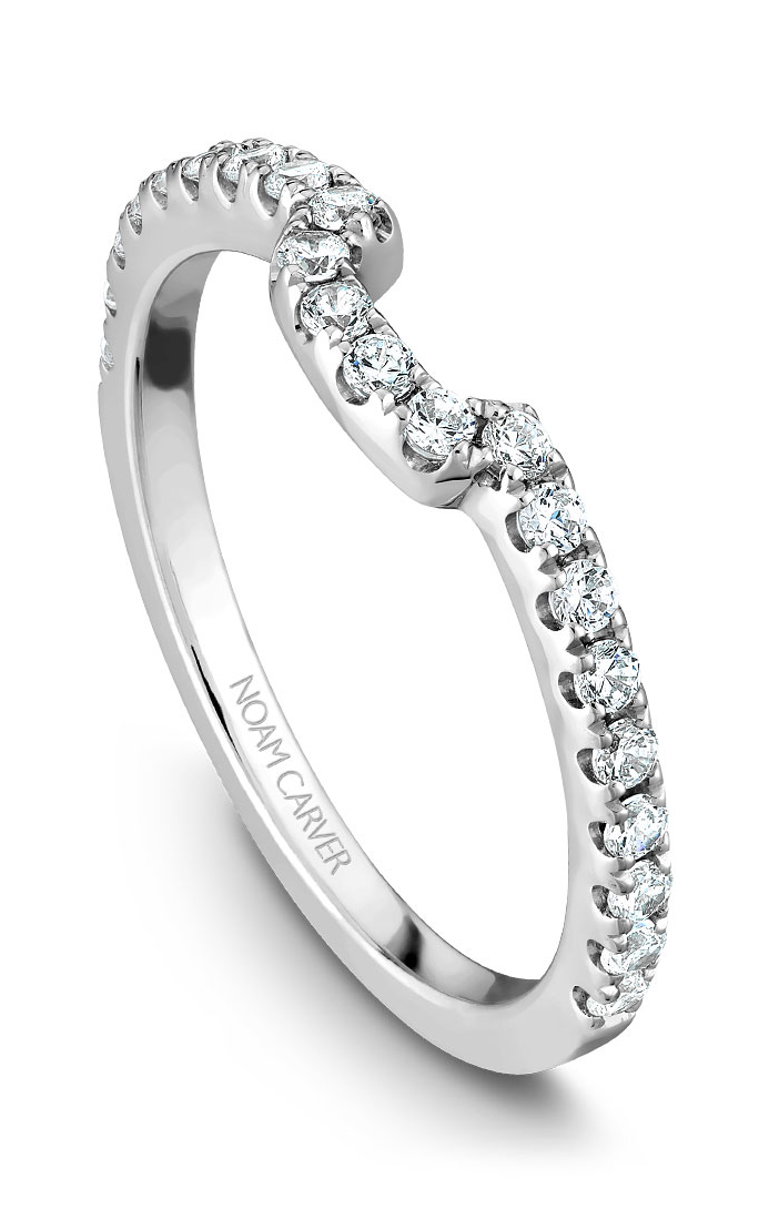 Noam Carver Wedding Bands B007-02B product image