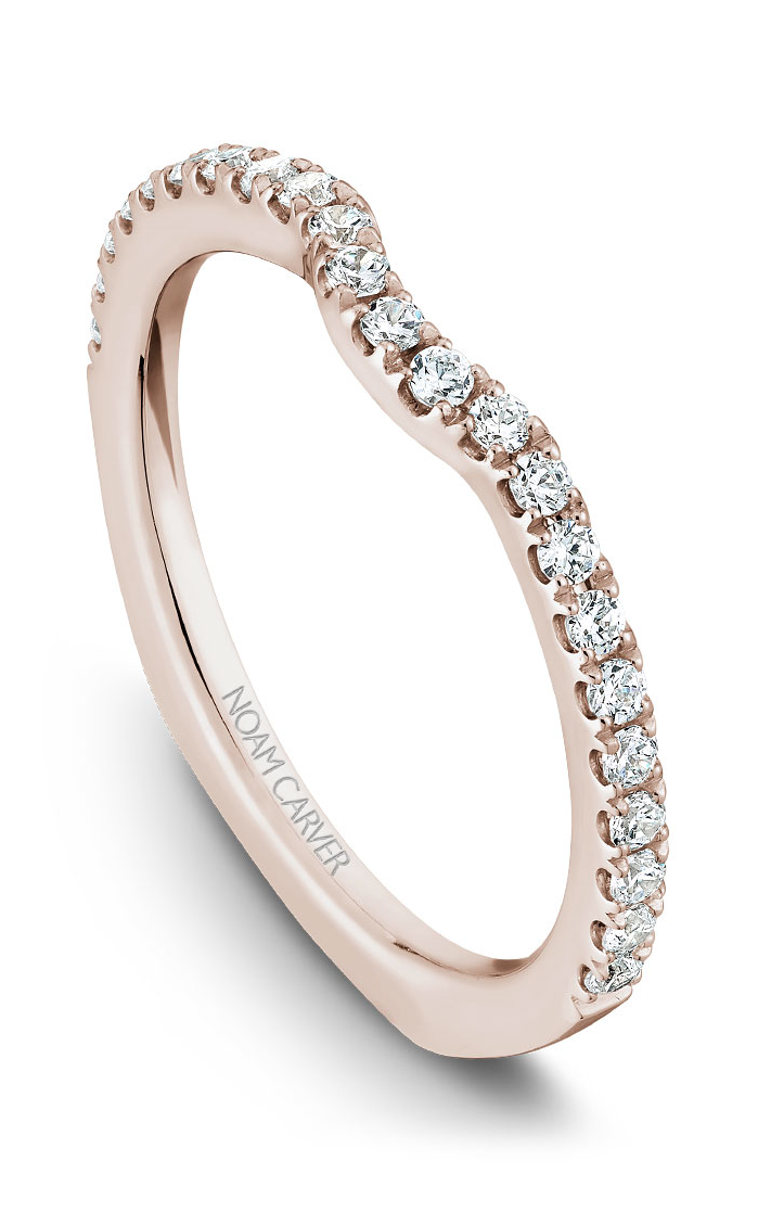 Noam Carver Wedding Bands B009-01RB product image