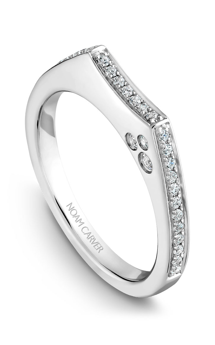 Noam Carver Wedding Bands B016-01B product image
