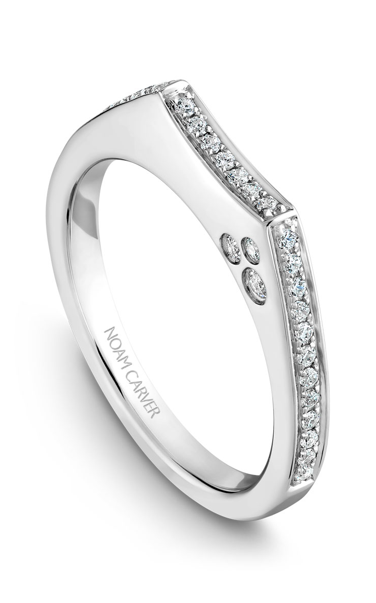 Noam Carver Wedding Bands B016-02B product image