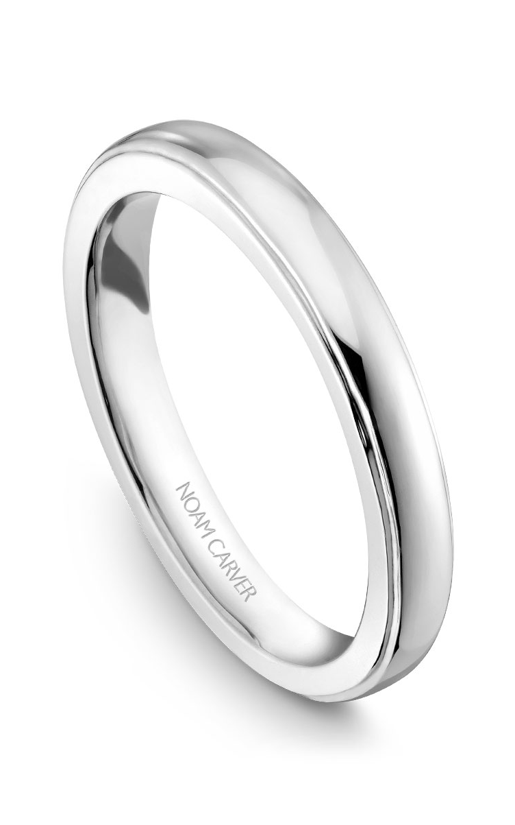 Noam Carver Wedding Bands B026-01B product image