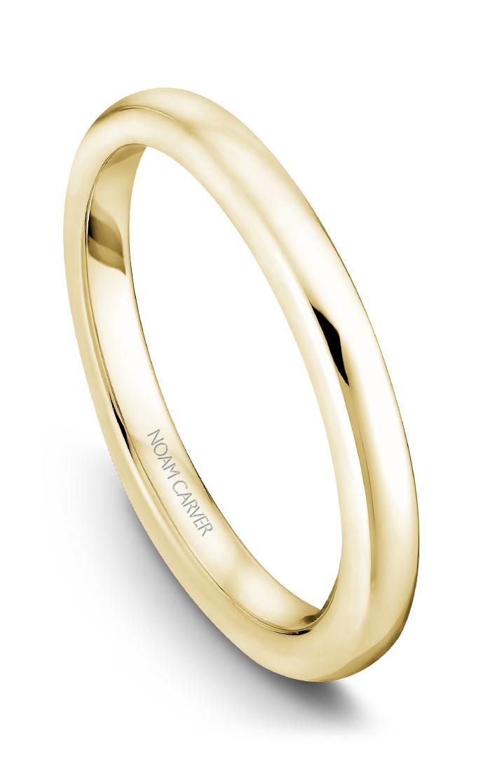 Noam Carver Wedding Band B038-02YB product image