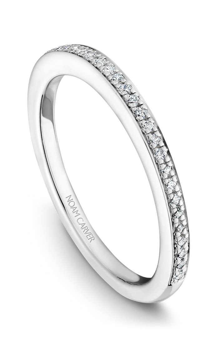 Noam Carver Wedding Bands B047-01B product image