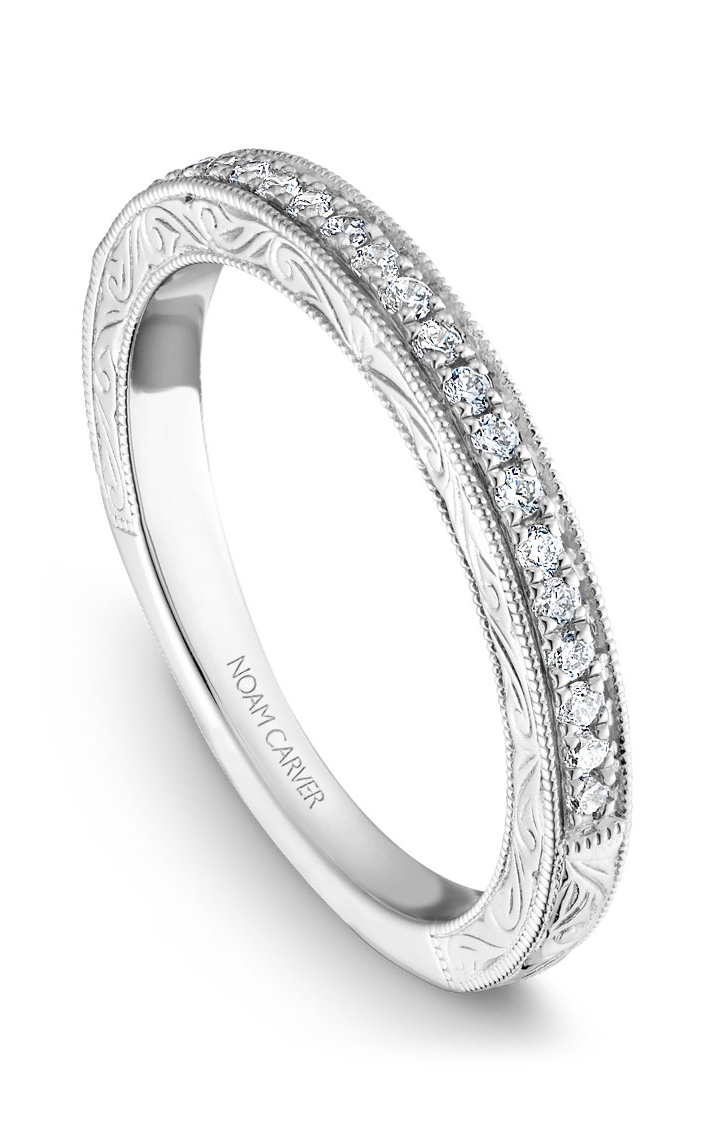 Noam Carver Wedding Bands B058-01B product image