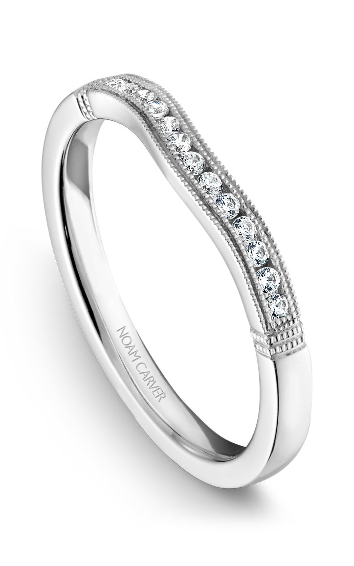 Noam Carver Wedding Bands B061-01B product image