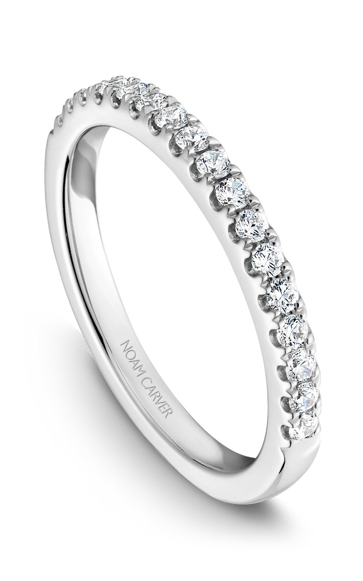 Noam Carver Wedding Band B082-01B product image