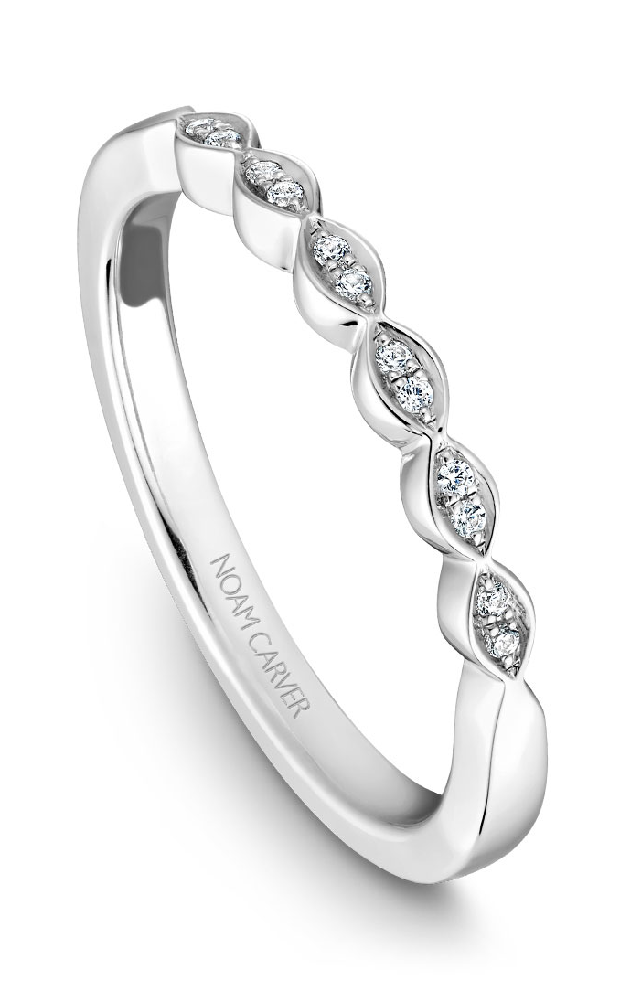 Noam Carver Wedding Band B084-01B product image