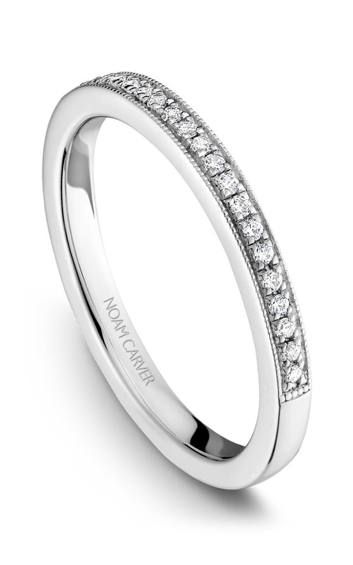 Noam Carver Wedding Bands B086-01B product image