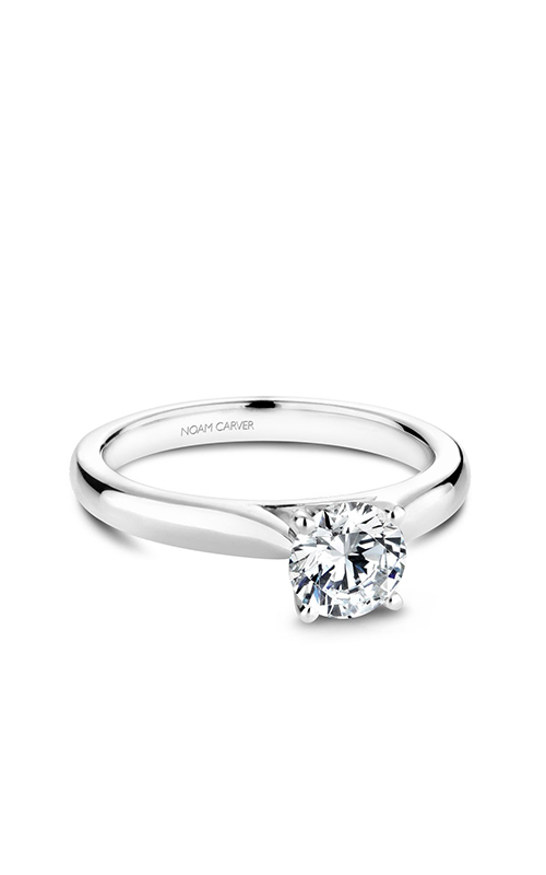 Noam Carver Solitaire Engagement Ring B190-0WM product image