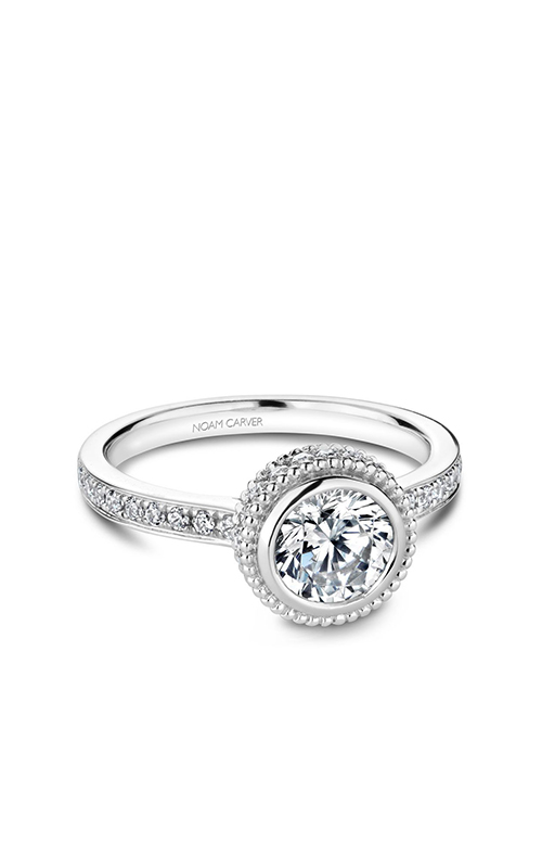 Noam Carver Modern Engagement Ring R017-01WM product image