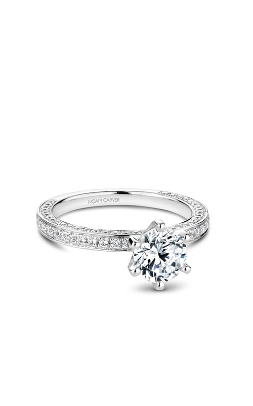 Noam Carver Solitaire Engagement Ring R049-01WM product image