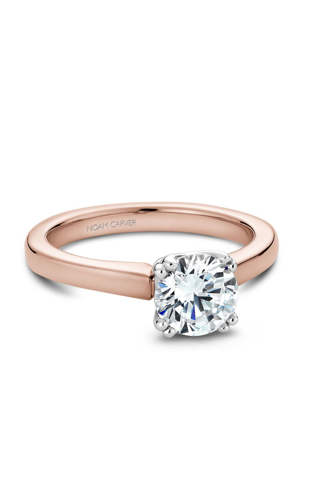 Noam Carver Classic Engagement Ring B001-02RWA product image