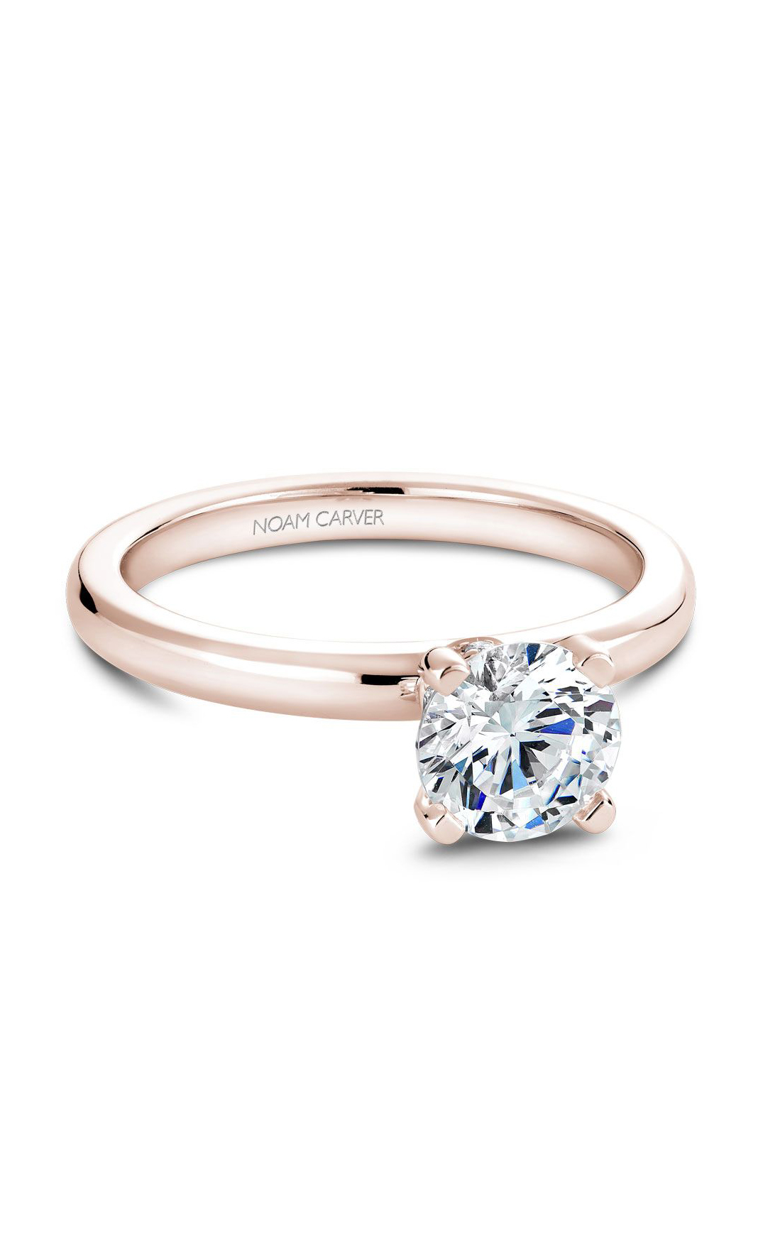 Noam Carver Classic Engagement Ring B012-02RA product image