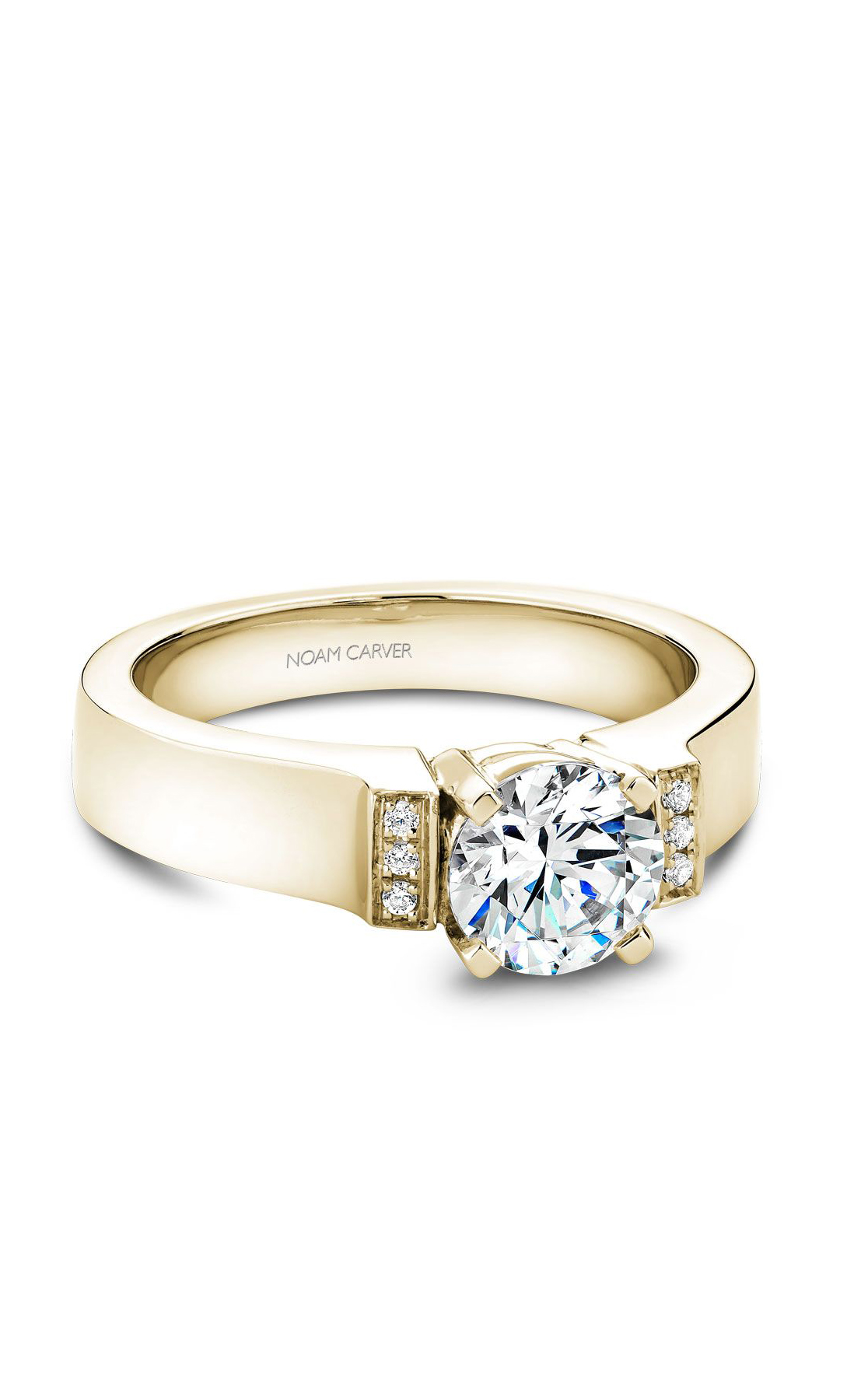 Noam Carver Modern Engagement Ring B042-01YA product image