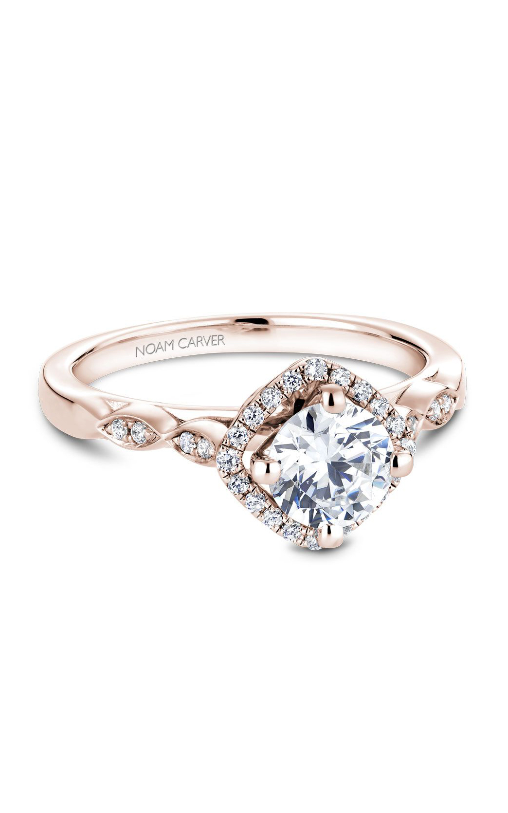 Noam Carver Modern Engagement Ring B084-01RRA product image